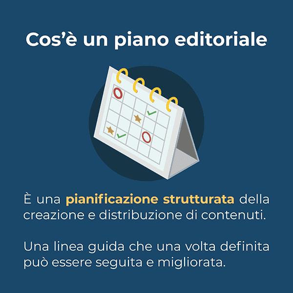 Una piano editoriale è una pianificazione strutturata della creazione e distribuzione di contenuti