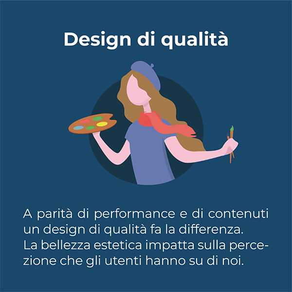 un design di qualità fa la differenza a parità di performance