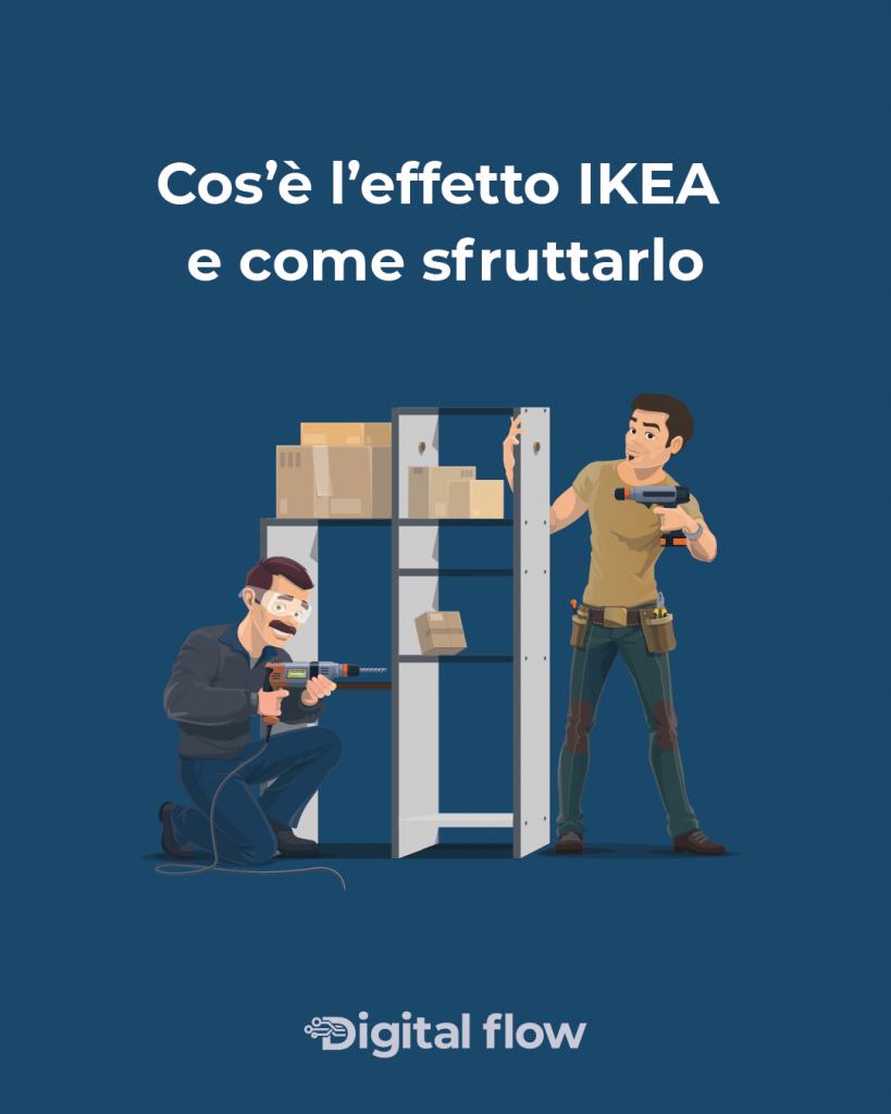 Andiamo a vedere in cosa consiste il cosiddetto effetto IKEA e come sfruttarlo nel marketing
