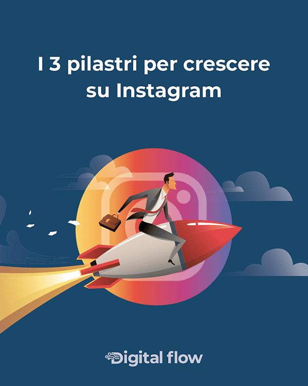 i 3 pilastri per crescere su Instagram