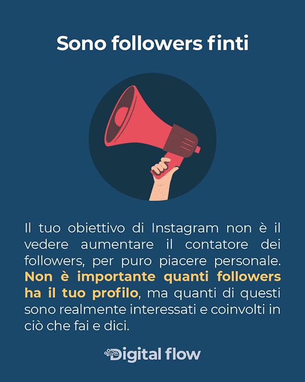 Non è importante quanti followers ha il tuo profilo